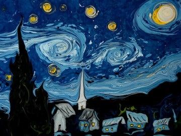 'La noche estrellada' de Van Gogh