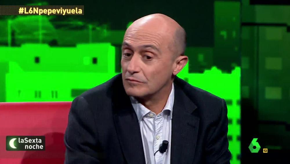 Pepe Viyuela, actor, cómico y activista