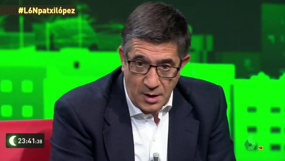 Patxi López, presidente del Congreso de los Diputados