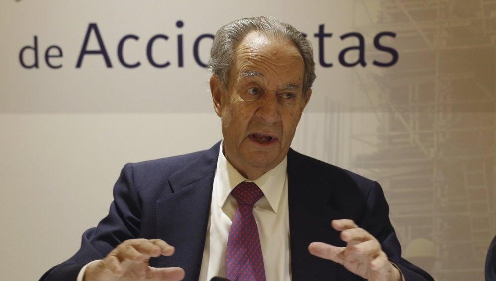 Villar Mir, expresidente de la constructora OHL