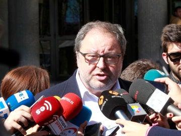 El delegado de Salud, Seguridad y Emergencias del Ayuntamiento de Madrid, Javier Barbero