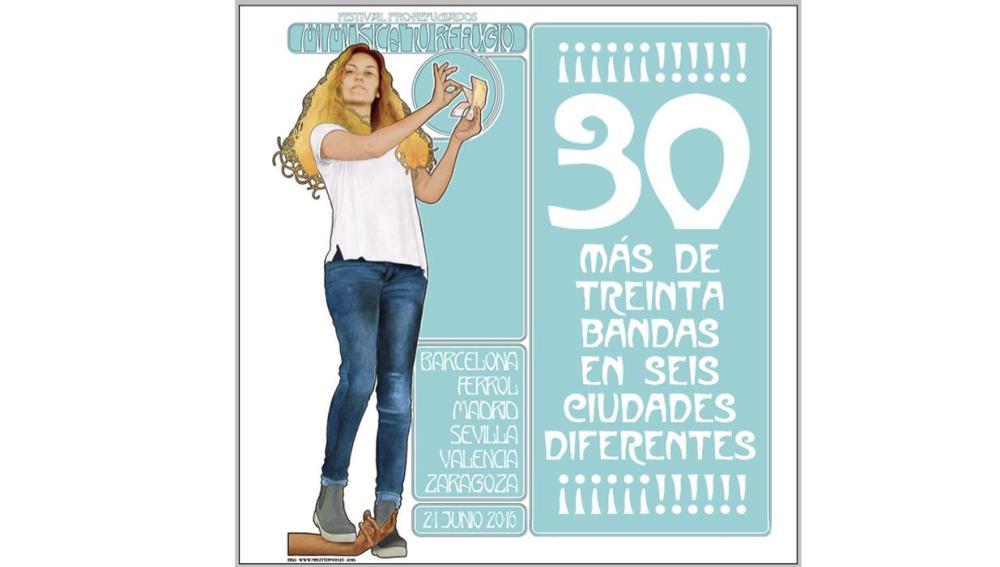 Iniciativa solidaria en toda España con motivo del Día de la Música y el Día Mundial de los refugiados