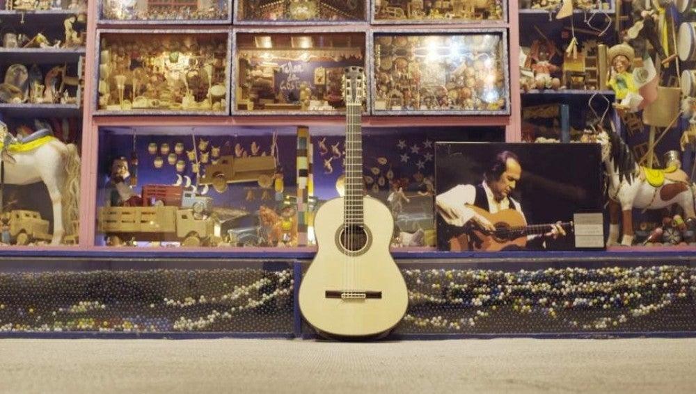 'La Maestro', última guitarra de Paco de Lucía