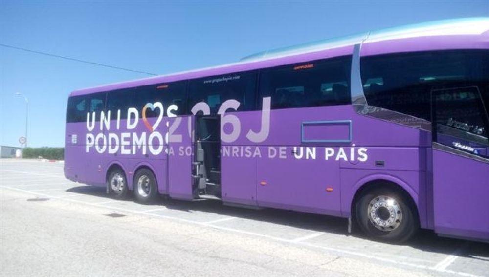 Autobús de Podemos