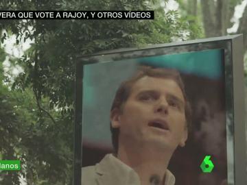 Rivera en un vídeo electoral