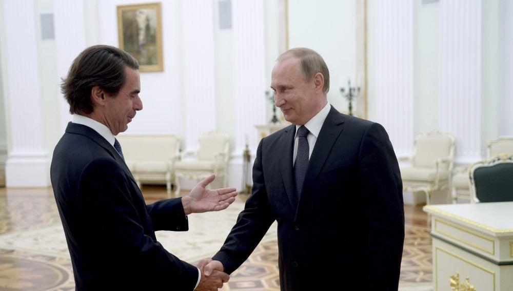 Aznar y Putin