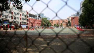 Patio de un colegio