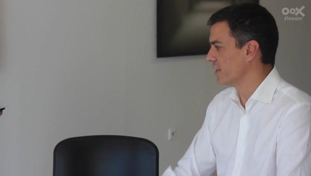 Pedro Sánchez, candidato del PSOE