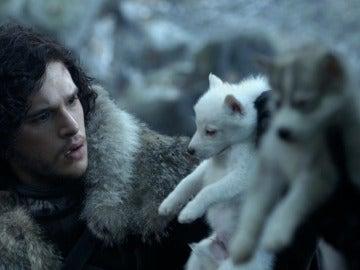 Jon Snow y Fantasma
