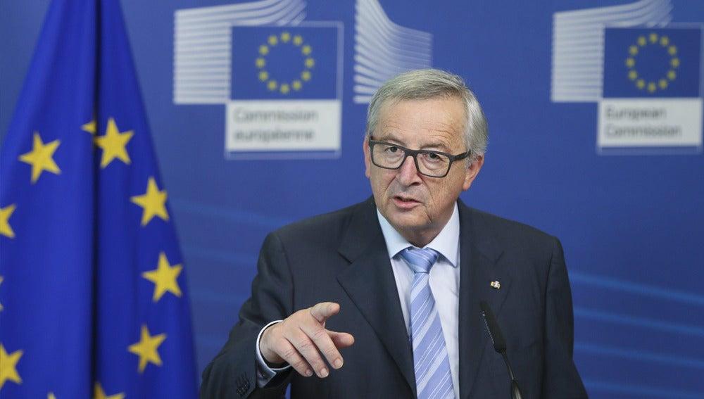 Juncker ante los medios