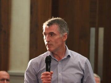 El presidente honorífico del partido republicano norirlandés Sinn Féin, Declan Kearney