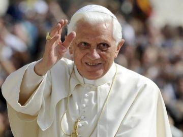 El papa emérito Benedicto XVI