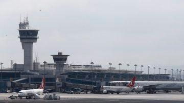 Aeropuerto Atatürk, en Estambul