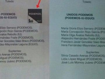 """La Junta Electoral valida """"casi 2.000 votos"""" de Unidos Podemos que fueron declarados nulos en Toledo"""