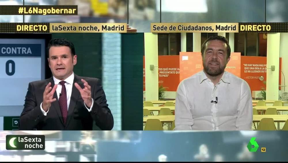 Miguel Gutiérrez, delegado de Ciudadanos en Madrid