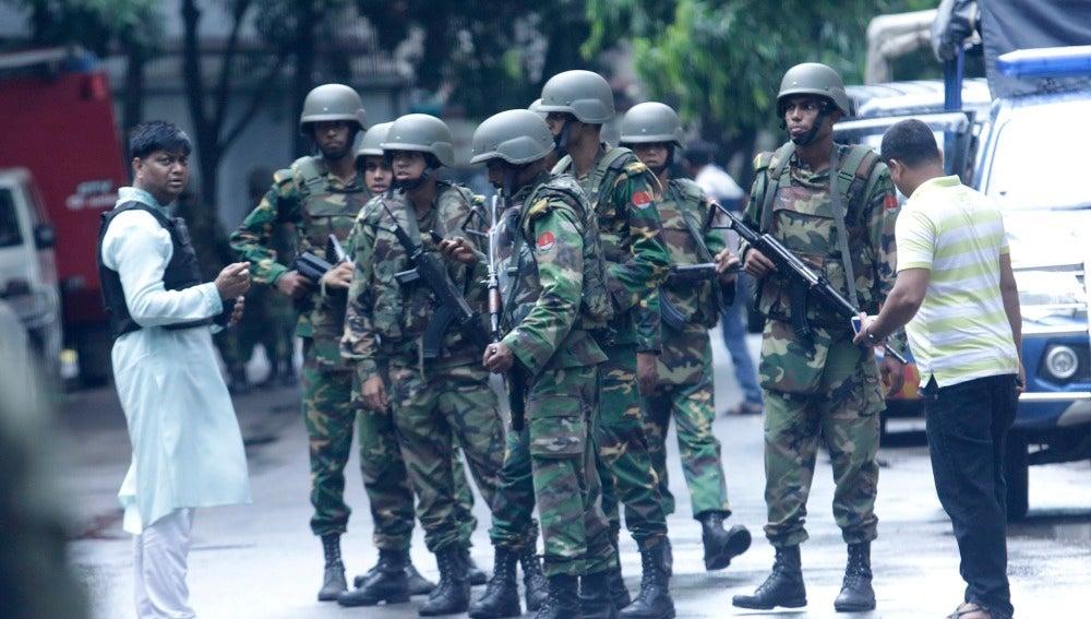 Ataque yihadista en Bangladesh