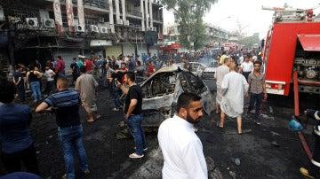 Atentado con coche bomba en Bagdad