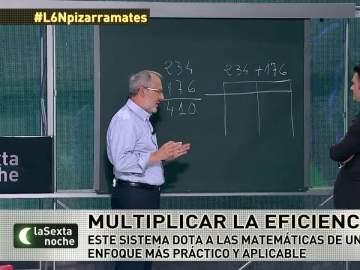 Javier Martínez, profesor de matemáticas