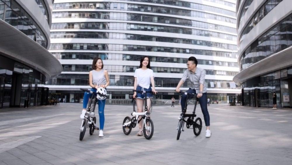 Mi QiCycle: así es la bici eléctrica plegable de Xiaomi