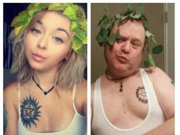 Burr Martin, el padre que se ha hecho viral imitando a su hija