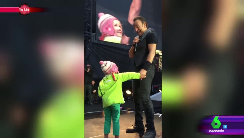 Bruce Springsteen en su concierto en Oslo