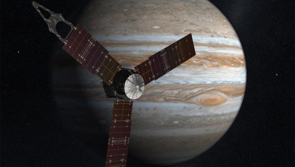 La sonda espacial Juno