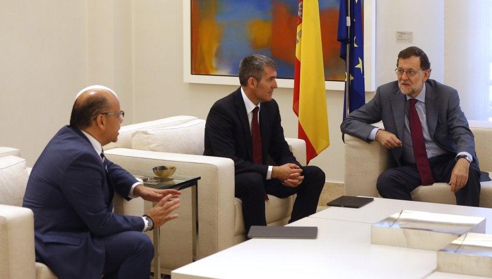 Reunión entre Coalición Canaria y PP