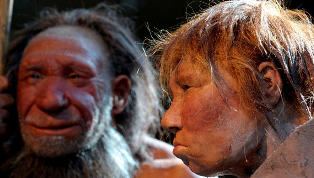 Representación de neandertales