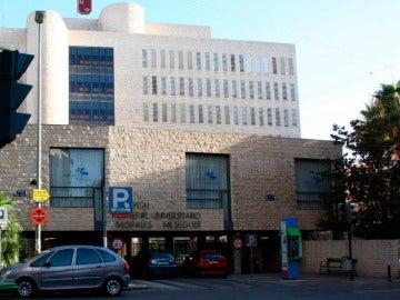 El hospital donde fue intervenida