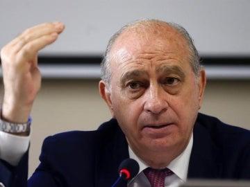El exministro del Interior en funciones, Jorge Fernández Díaz