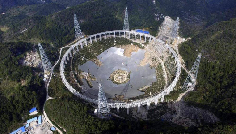 China ya cuenta con el radiotelescopio fijo más grande del mundo
