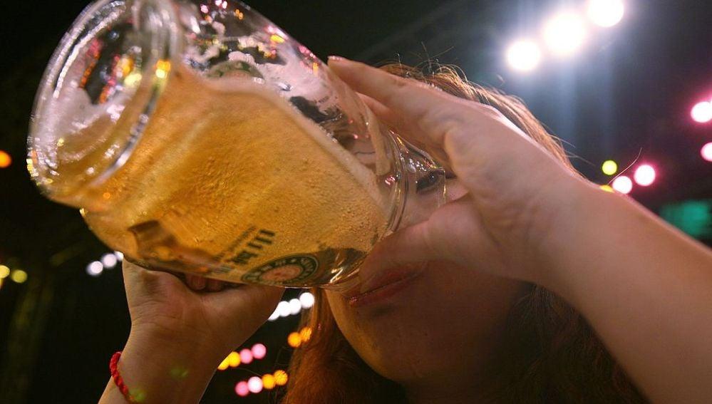 cerveza con próstata
