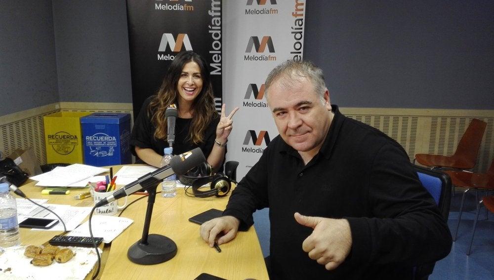 Antonio García Ferrreras y Nuria Roca