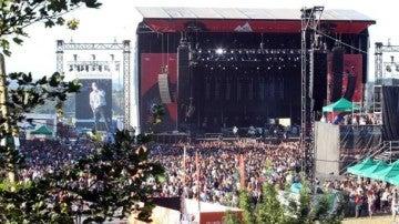 El escenario del Bilbao BBK Live 2016