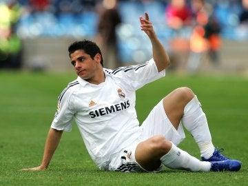Cicinho en su etapa en el Real Madrid