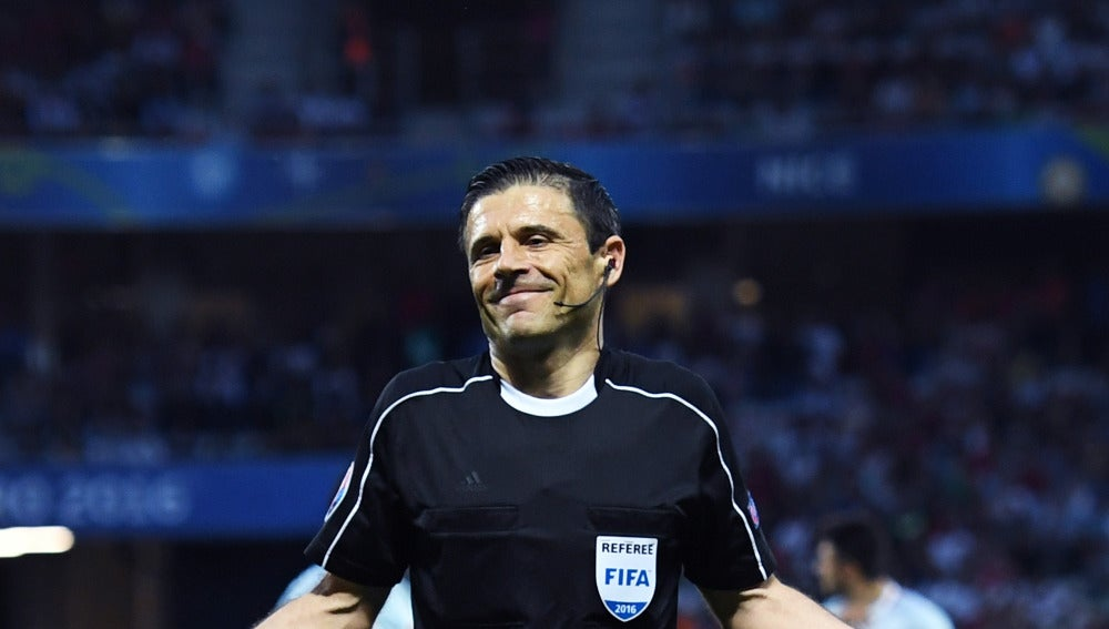 Milorad Mazic, durante un partido