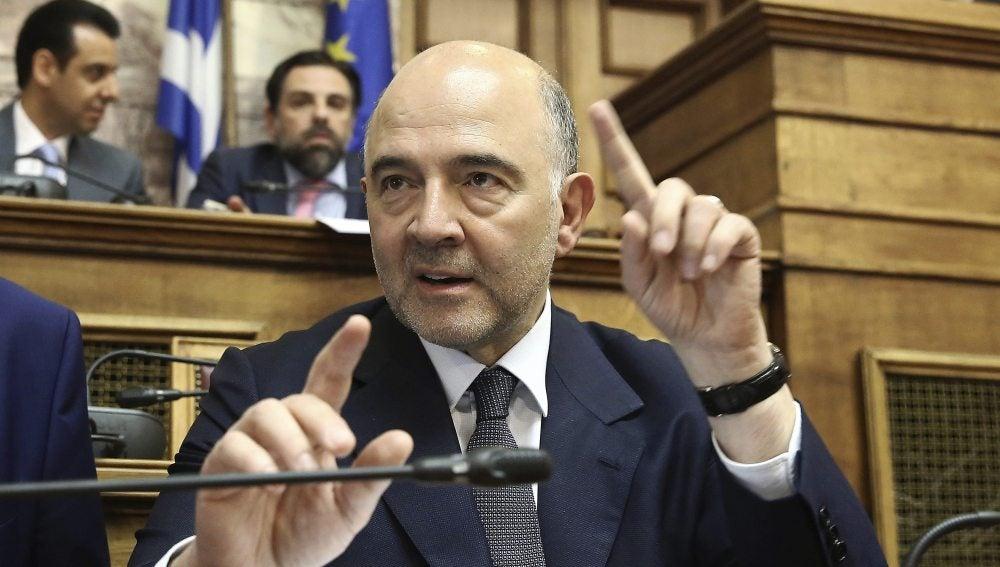 El comisario de Asuntos Económicos de la Comisión Europea, Pierre Moscovici