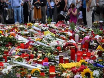 Homenaje a las víctimas de Múnich