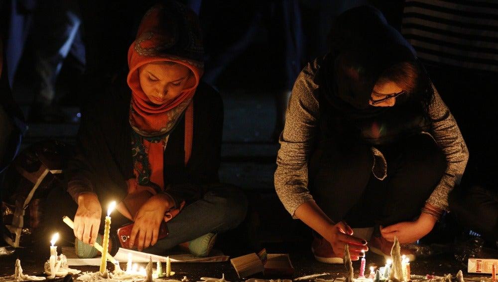 Homenaje a las víctimas del atentado en Kabul
