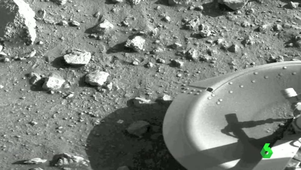 Primera foto de Marte