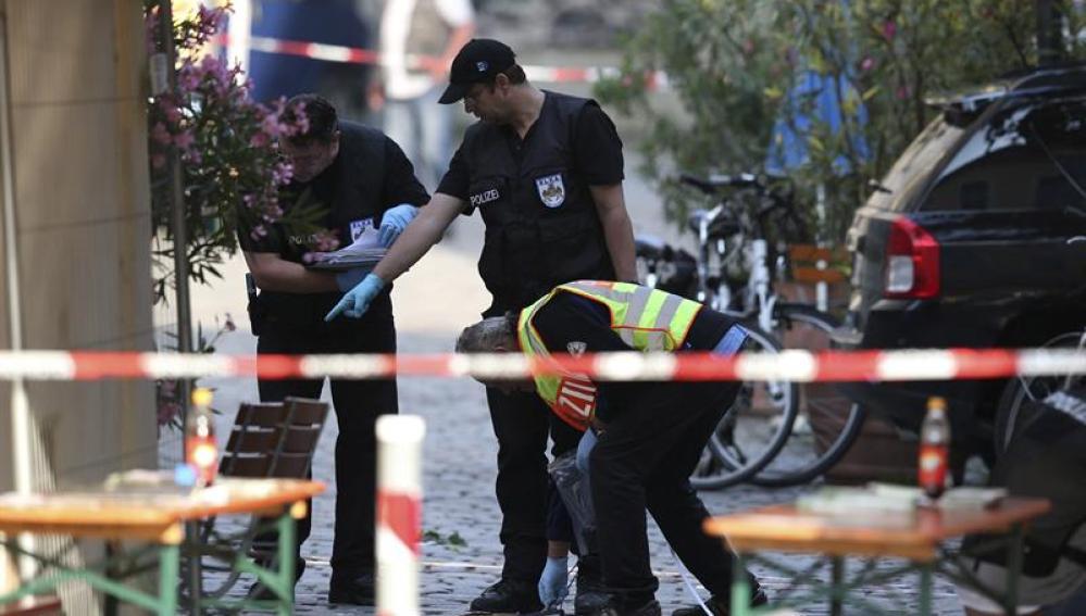 Policía al sur de Alemania