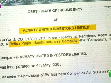 Frame 14.149359 de: Safaris, diamantes, negocios petroleros y otros sobornos: empresarios africanos, vinculados a Mossack Fonseca