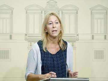 Neus Munté, consejera del Gobierno catalán