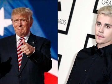 Donald Trump y Justin Bieber
