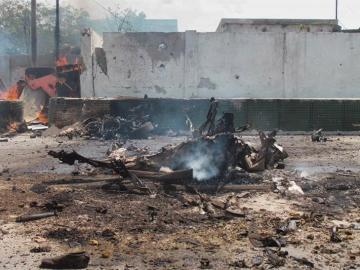 Imagen de archivo de un atentado en Somalia