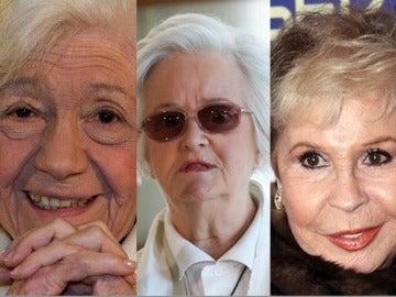 Ana María Matute, Chus Lampreave y Lina Morgan