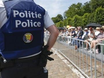 Policía belga en una imagen de archivo