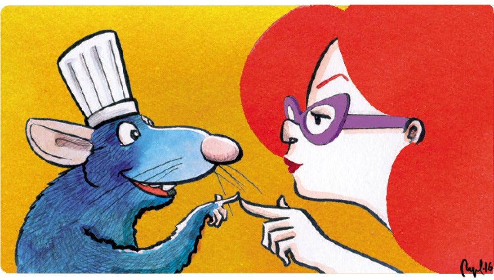 Las matemáticas que usó Pixar en Ratatouille