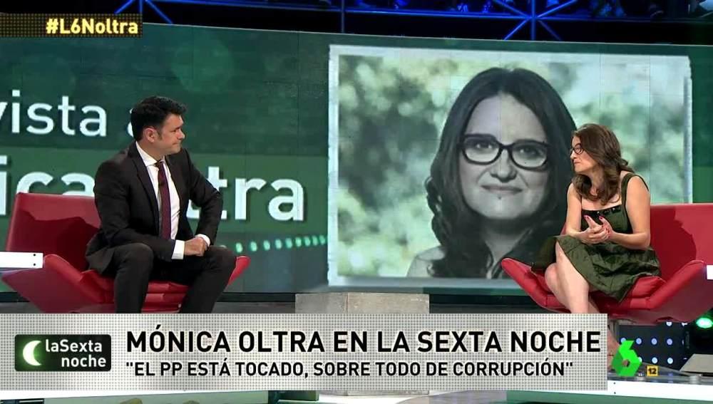 Mónica Oltra en laSexta Noche