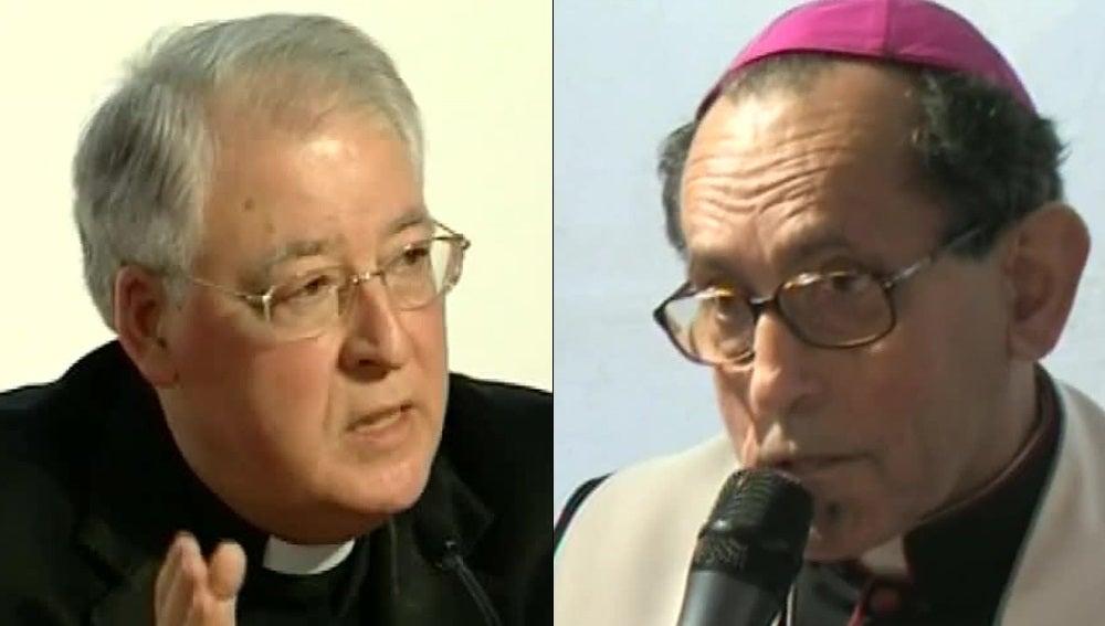 Los obispos Reig Plá y López de Andújar